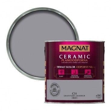 Farba Magnat Ceramic grafitowy marmur 2,5 l