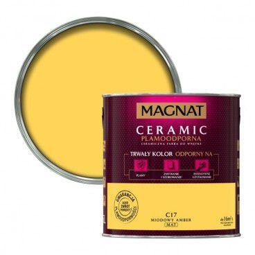 Farba Magnat Ceramic miodowy amber 2,5 l