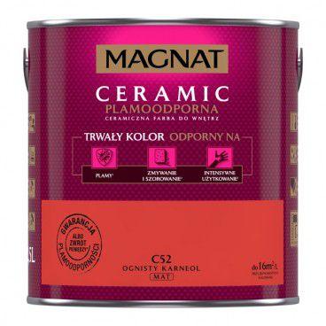 Farba Magnat Ceramic ognisty karneol 2,5 l
