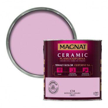 Farba Magnat Ceramic różowy kwarc 2,5 l