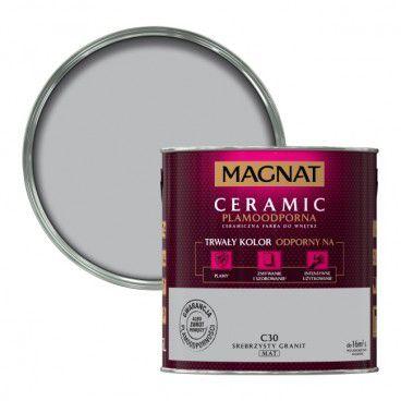 Farba Magnat Ceramic srebrzysty granit 2,5 l