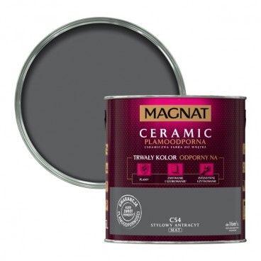 Farba Magnat Ceramic stylowy antracyt 2,5 l