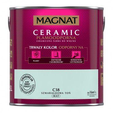 Farba Magnat Ceramic szmaragdowa toń 2,5 l