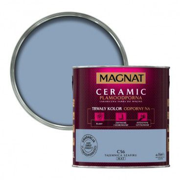 Farba Magnat Ceramic tajemnica szafiru 2,5 l