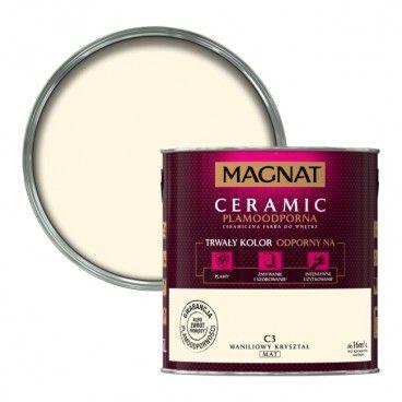 Farba Magnat Ceramic waniliowy kryształ 2,5 l