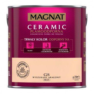 Farba Magnat Ceramic wyszukany aragonit 2,5 l