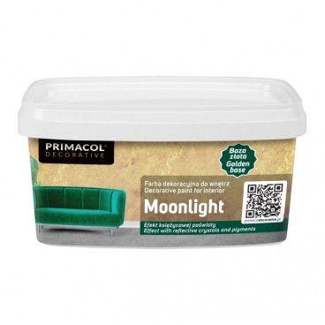 Farba dekoracyjna Primacol Moonlight złoty 1 l