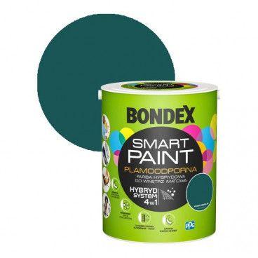 Farba hybrydowa Bondex Smart Paint piękna Esmeralda 5 l