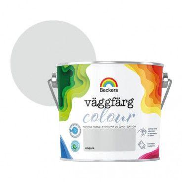 Farba lateksowa Beckers Vaggfarg Colour angora 2,5 l