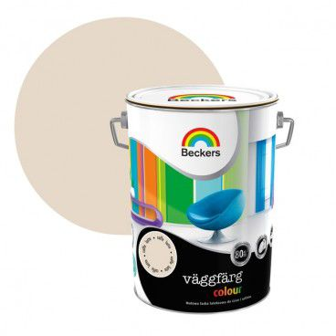 Farba lateksowa Beckers Vaggfarg Colour caffe latte 5 l