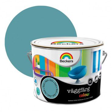 Farba lateksowa Beckers Vaggfarg Colour fiord 2,5 l