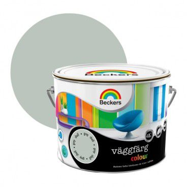 Farba lateksowa Beckers Vaggfarg Colour grey shell 2,5 l