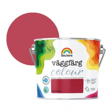 Farba lateksowa Beckers Vaggfarg Colour hot & spicy 2,5 l