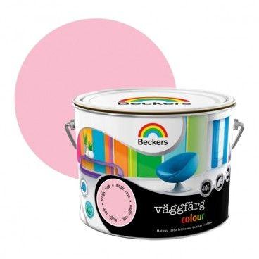 Farba lateksowa Beckers Vaggfarg Colour magic rose 2,5 l