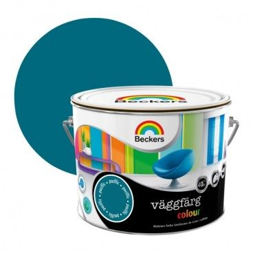 Farba lateksowa Beckers Vaggfarg Colour pacific 2,5 l