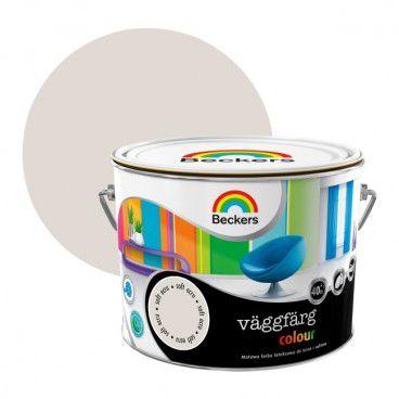 Farba lateksowa Beckers Vaggfarg Colour soft ecru 2,5 l