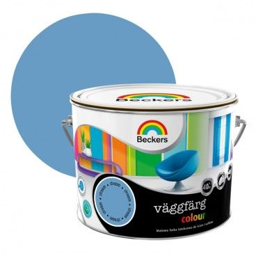 Farba lateksowa Beckers Vaggfarg Colour stream 2,5 l