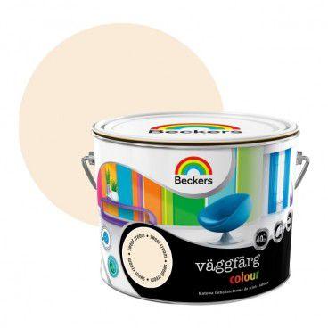Farba lateksowa Beckers Vaggfarg Colour sweet cream 2,5 l