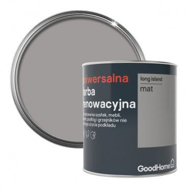 Farba renowacyjna uniwersalna GoodHome long island mat 0,75 l