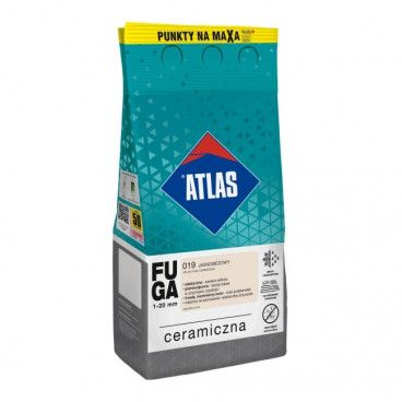 Fuga ceramiczna Atlas 019 jasnobeżowy 5 kg