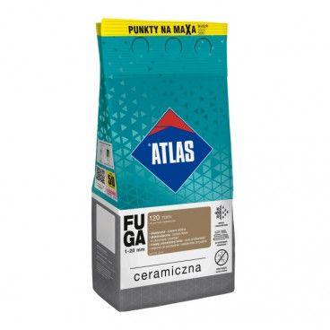 Fuga ceramiczna Atlas 120 toffi 5 kg