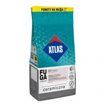 Fuga ceramiczna Atlas 202 popielaty 5 kg