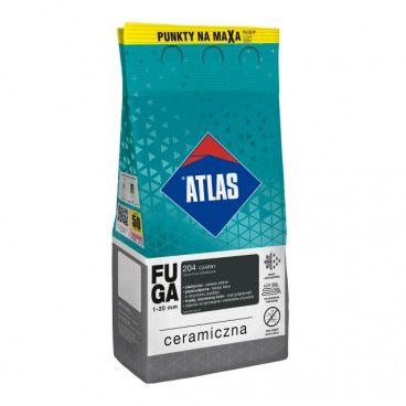Fuga ceramiczna Atlas 204 czarny 5 kg