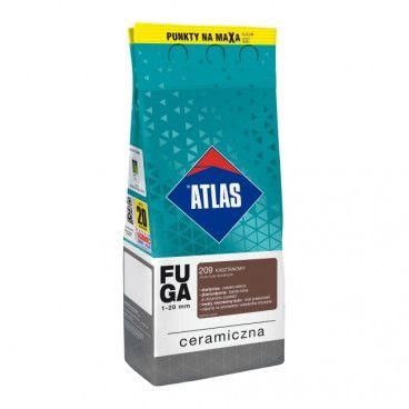 Fuga ceramiczna Atlas 209 kasztanowy 2 kg