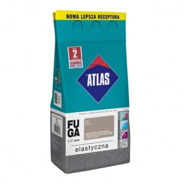 Fuga elastyczna Atlas 211 cementowy 2 kg