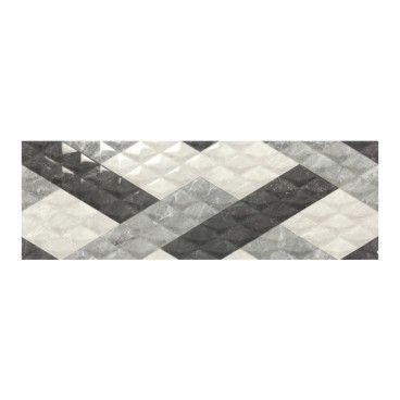Glazura Balmoral 30 x 90 cm optic silver 1,08 m2