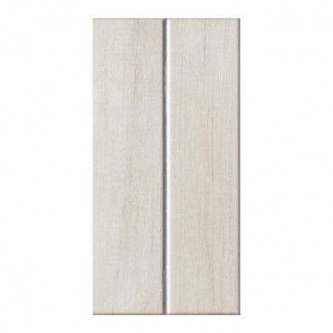 Glazura Pinia Arte 22,3 x 44,8 cm biała struktura 1,5 m2