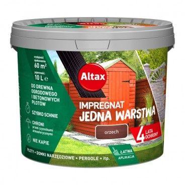 Impregnat Altax Drewno Beton orzech 10 l