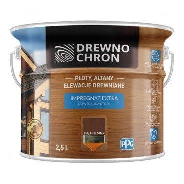 Impregnat Drewnochron Extra dąb ciemny 2,5 l