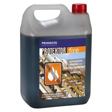 Impregnat do drewna Primacol Protektor Fire palisander 5 l