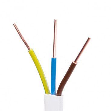 Kabel instalacyjny AKS Zielonka YDYp 4/7 3 x 2,5 mm2 50 m