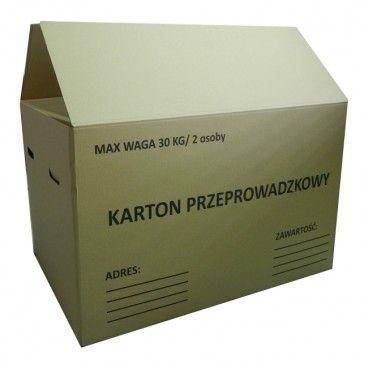 Karton przeprowadzkowy 800 x 600 x 500 mm