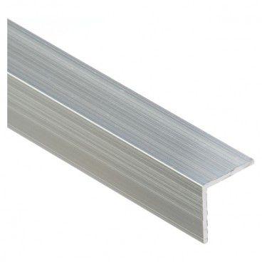 Kątownik Cezar 20 x 20 x 1,5 mm 1 m aluminium naturalne