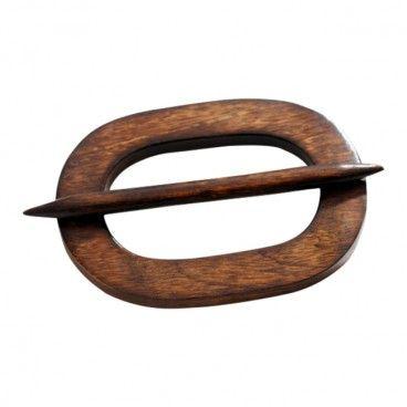 Klamra dekoracyjna UN11/26S ciemne drewno