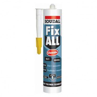 Klej-uszczelniacz Soudal Fix All Classic 290 ml szary
