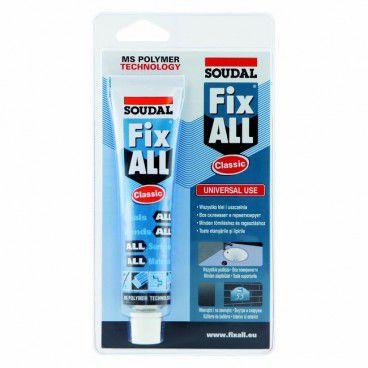 Klej-uszczelniacz Soudal Fix All Classic 80 ml biały