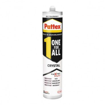 Klej Pattex One For All Crystal bezbarwny 290 g