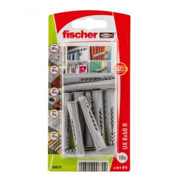 Kołki uniwersalne Fischer UX 8 x 50 mm 10 szt.