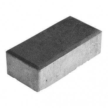 Kostka brukowa Polbruk Prostokąt 4 cm grafitowa