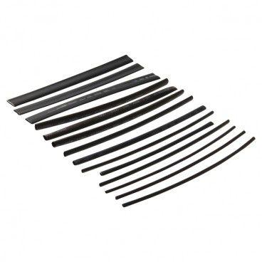 Koszulki termokurczliwe 2-8 mm czarne 15 szt.