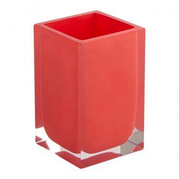 Kubek łazienkowy Capraia czerwony