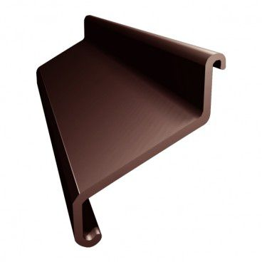 Łącznik do okapników Renoplast L100 brązowy