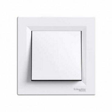 Łącznik pojedynczy Schneider Electric Asfora biały