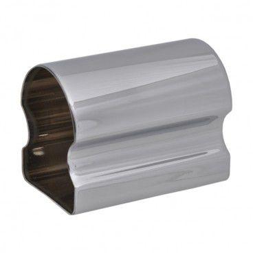 Łącznik poręczy Kornik 60 x 50 x 80 mm srebrny