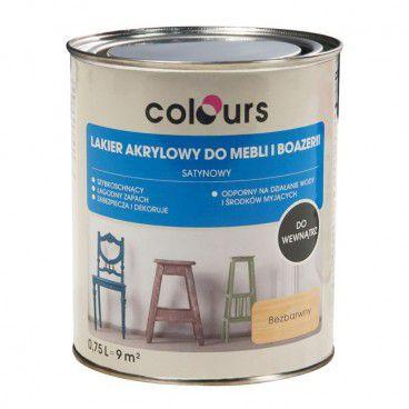 Lakier Colours satynowy mat 0,75 l