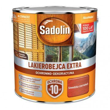 Lakierobejca Sadolin Extra szwedzka czerwień 2,5 l
